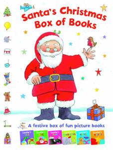 Santa's Christmas Box of Books: A Festive Box of Fun Picture Books - cover