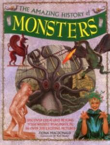 Amazing History of Monsters - cover