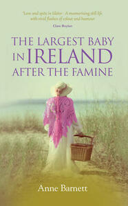 The Largest Baby in Ireland After the Famine - Anne Barnett - cover