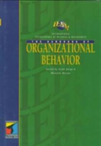 IEBM Handbook of Organizational Behavior - Malcolm Warner,Arndt Sorge - cover