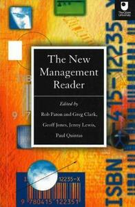 The New Management Reader - Geoff Jones,Rob Paton,Greg Clark - cover