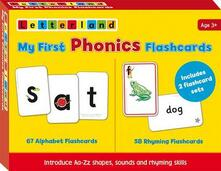 My First Phonics Flashcards - Lyn Wendon - cover