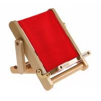 Boochair mini rosso leggio a forma di sdraio