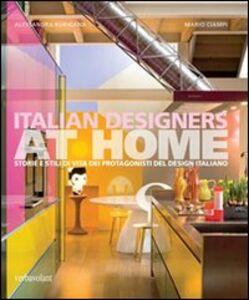Italian designers at home