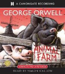 Animal Farm - George Orwell - cover