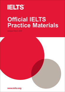 Official IELTS Practice Materials. Paperback with cd-audio