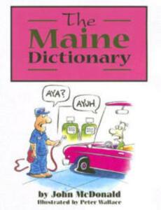 The Maine Dictionary - John McDonald - cover