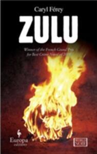 Zulu - Caryl Férey - copertina
