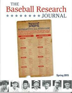 Baseball Research Journal (BRJ), Volume 44 #1 - Society for American Baseball Research - cover