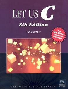 Let Us C - Yashavant P. Kanetkar - cover