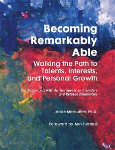 Becoming Remarkably Able: Walking the Path to Talents, Interests and Personal Growth - Jackie Marquette - cover