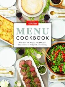 Menu Cookbook