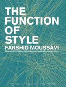 The function of style - Farshid Moussavi - copertina