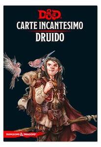 Dungeons & Dragons. Carte Incantesimo Druido D&D 5.0 - 2