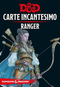 Dungeons & Dragons. Carte Incantesimo Ranger D&D 5.0 - 2