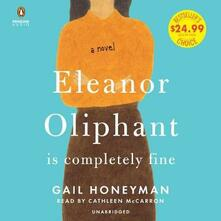 Eleanor Oliphant Is Completely Fine: A Novel - Gail Honeyman - cover