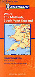 Wales, The Midlands, south west England 1:400.000