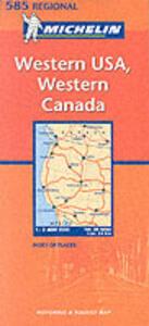 Western U.S.A., western Canada 1:2.400.000