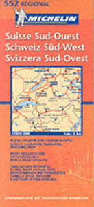 Suisse sud-ouest 1:200.000