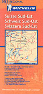 Suisse sud-est 1:200.000