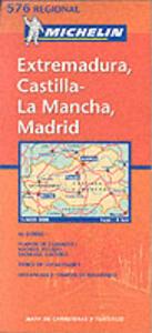 Extremadura, Castilla la Mancha, Madrid 1:400.000