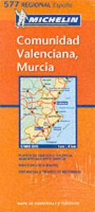 Comunidad valenciana, Murcia 1:400.000