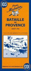 Foto Cover di Bataille de Provence, Libro di  edito da Michelin Italiana