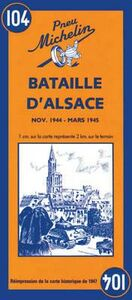 Libro Bataille d'Alsace. Novembre 1944-mars 1945