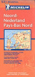 Noord-Nederland-Pays-Bas nord 1:200.000