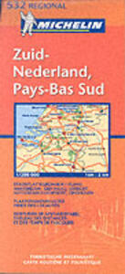 Zuid-Nederland, Pays-Bas sud 1:200.000