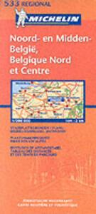 Belgique nord & centre-Noord & midden België 1:200.000