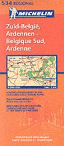 Belgique sud, Ardenne-Zuid-België, Ardennen 1:200.000