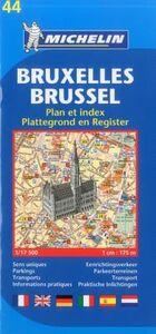 Foto Cover di Bruxelles-Brussel 1:17.500, Libro di  edito da Michelin Italiana