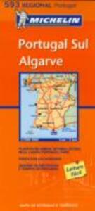 Portugal sul. Algarve 1:300.000