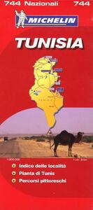 Tunisia 1:800.000 - copertina