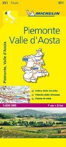 Libro Piemonte, Valle d'Aosta 1:200.000