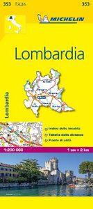 Foto Cover di Lombardia 1:200.000, Libro di  edito da Michelin Italiana