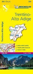 Foto Cover di Trentino Alto Adige 1:200.000, Libro di  edito da Michelin Italiana