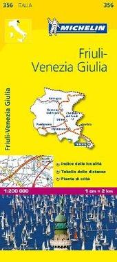 Friuli Venezia Giulia 1:200.000