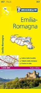 Foto Cover di Emilia Romagna 1:200.000, Libro di  edito da Michelin Italiana