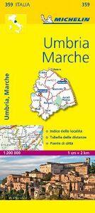 Foto Cover di Umbria, Marche 1:200.000, Libro di  edito da Michelin Italiana