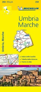 Umbria, Marche 1:200.000