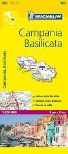 Libro Campania, Basilicata 1:200.000