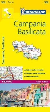 Campania, Basilicata 1:200.000