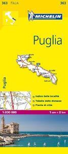Puglia 1:200.000 - copertina
