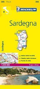 Foto Cover di Sardegna 1:200.000, Libro di  edito da Michelin Italiana