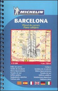Foto Cover di Barcelona. Plànol de carrers-Plano callejero 1:12.000, Libro di  edito da Michelin Italiana