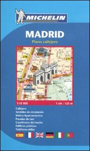 Libro Madrid. 1:12.000