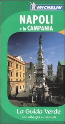 Cartina Michelin Sardegna.Napoli E La Campania Libro Michelin Italiana La Guida Verde Ibs