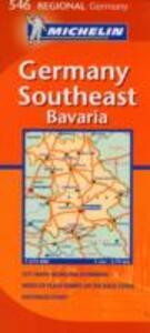 Germany Southeast, Bavaria 1:375.000 - copertina